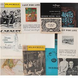 Vincente Minnelli personal collection of (12) playbills and programs.