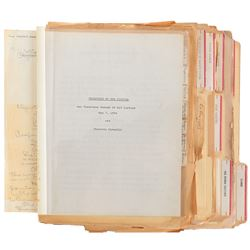 Vincente Minnelli archive of notes and reviews of his films.