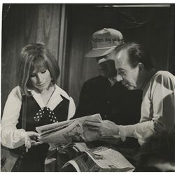 Vincente Minnelli and Barbara Streisand oversize photograph from On a Clear Day You Can See Forever.