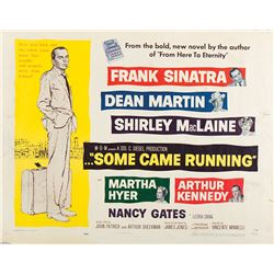 Vincente Minnelli (2) half-sheet posters for Some Came Running & On a Clear Day You Can See Forever.