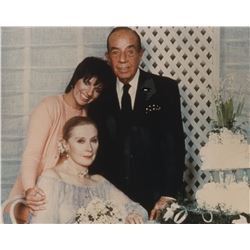 Vincente Minnelli negatives, transparencies, photographs & contact sheets from his wedding to Lee.