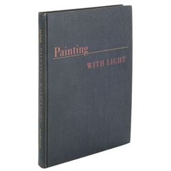 Painting with Light inscribed and signed by John Alton to Vincente Minnelli.
