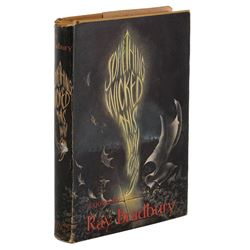 Something Wicked This Way Comes second printing signed by Ray Bradbury.