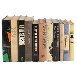 Vincente Minnelli extensive personal library of (200+) art, literature, culture, and history books.
