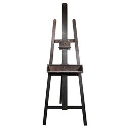 Vincente Minnelli wooden artist's easel.