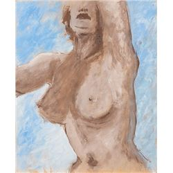 Vincente Minnelli (2) original nude female form study paintings.