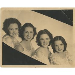 The Gumm Sisters early publicity photograph.