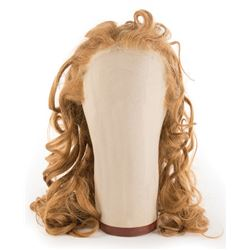 Judy Garland 'Dorothy Gale' wig from the first week of shooting on The Wizard of Oz.