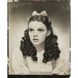Judy Garland CBS file copy contact print photograph from The Wizard of Oz.