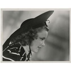 Judy Garland oversize publicity portrait for The Wizard of Oz.