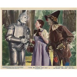 Judy Garland (8) English 1955 rerelease lobby cards for The Wizard of Oz.