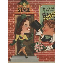 Judy Garland personal (2) special Lion's Roar inserts for Babes on Broadway & Presenting Lily Mars.