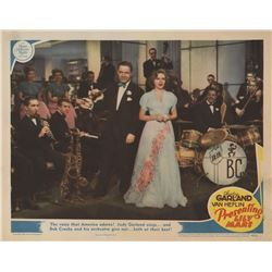 Judy Garland lobby card from Presenting Lily Mars.
