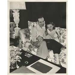 Judy Garland (5) photographs at home and abroad with Vincente Minnelli.