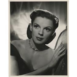 Judy Garland oversize publicity portrait photograph for The Harvey Girls.