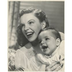 Judy Garland and baby Liza Minnelli photograph by John Engstead.