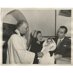 Judy Garland (3) photographs from Liza Minnelli's christening.