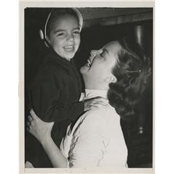 Judy Garland with Liza Minnelli (5) vintage photographs.