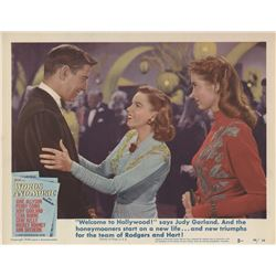 Judy Garland lobby card from Words and Music.