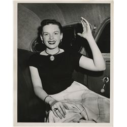 Judy Garland (3) hospital release press photographs.