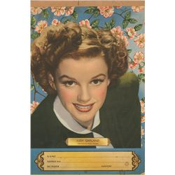 Judy Garland collection of (8) fan magazines and memorabilia.
