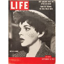 Judy Garland (2) September 13, 1954 issues of Life Magazine.