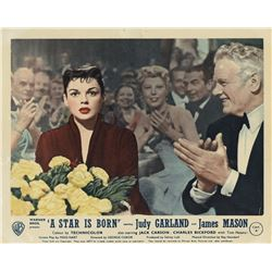 Judy Garland complete set of (8) English lobby cards for A Star is Born.