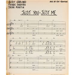 Judy Garland (2) sheet music arrangements.