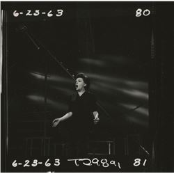 The Judy Garland Show (22) behind-the-scenes contact sheets for the pilot of her TV series.