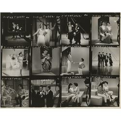 The Judy Garland Show (9) contact sheets.