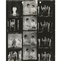 The Judy Garland Show (10) contact sheets.