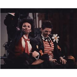 Judy Garland and Liza Minnelli (4) color photographs from The Judy Garland Show by Roddy McDowall.