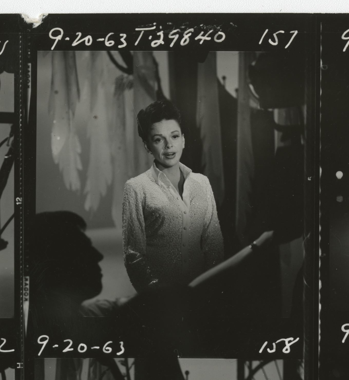 The Judy Garland Show (33) behind-the-scenes contact sheets.