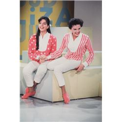 Judy Garland & Liza Minnelli (8) oversize color photos from The Judy Garland Show by Roddy McDowall.