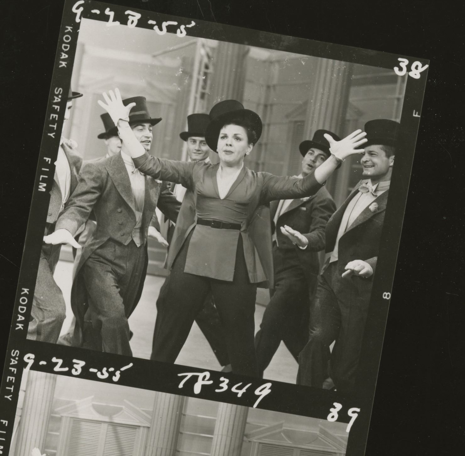 Judy Garland (23) contact sheets for television variety specials and ...
