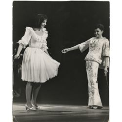 Judy Garland and Liza Minnelli (3) oversize photographs.
