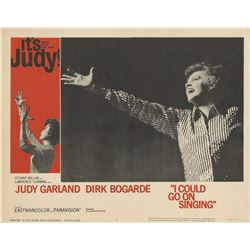 Judy Garland (7) lobby cards from I Could Go on Singing.