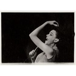 Judy Garland (85+) live performance and candid contact sheet images.