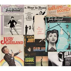 Judy Garland (8) fan publications.