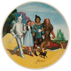 The Wizard of Oz 'Grand Finale' collector plate by Knowles.