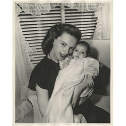 Liza Minnelli (7) baby and childhood photographs with one or both of her parents.