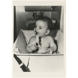 Liza Minnelli (60+) baby and childhood photos and inter-negatives.