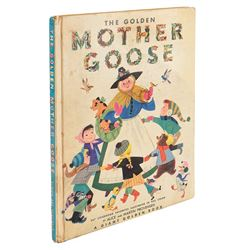 Liza Minnelli The Golden Mother Goose storybook inscribed and signed to her by Vincente Minnelli.