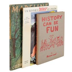 Liza Minnelli (3) childhood books including Madeline.