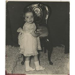 Liza Minnelli as a toddler (3) oversize custom photographs.