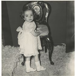 Liza Minnelli (5) oversize childhood photographs.