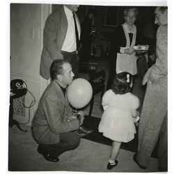 Liza Minnelli (20) childhood photographs including a birthday party at the home of Bogart & Bacall.