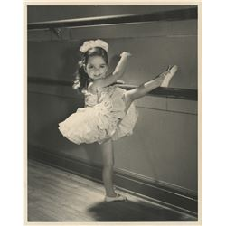 Liza Minnelli (14) childhood ballet photographs.