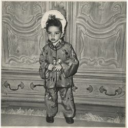 Liza Minnelli (4) oversize childhood photographs.