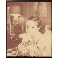 Liza Minnelli (3) early color process baby photographs, including (2) with Judy Garland.